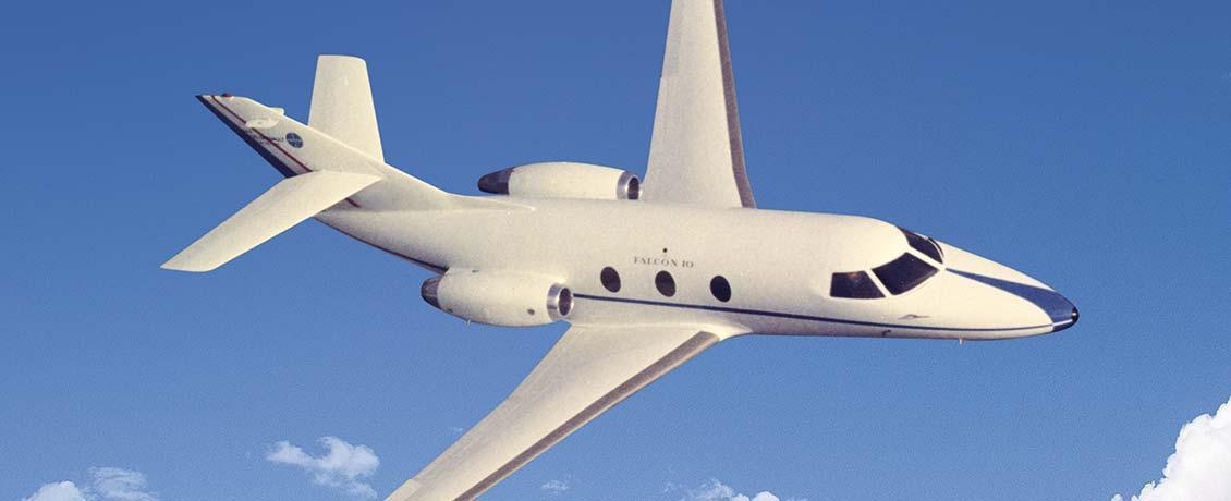 Dassault-Falcon-10-100-training