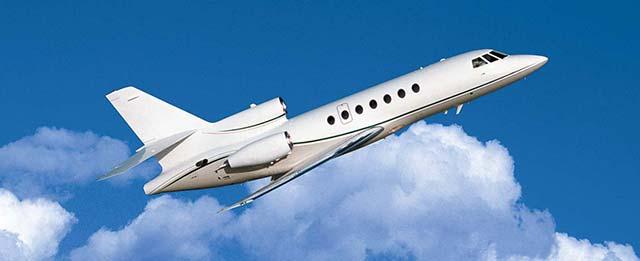 Dassault-Falcon-50EX-training