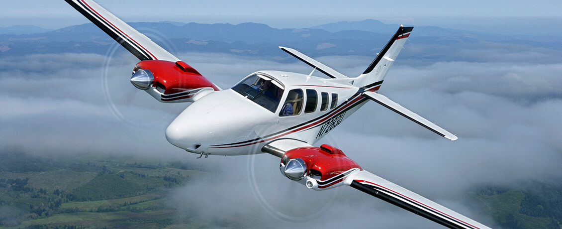 Beechcraft-Baron-Bonanza-training
