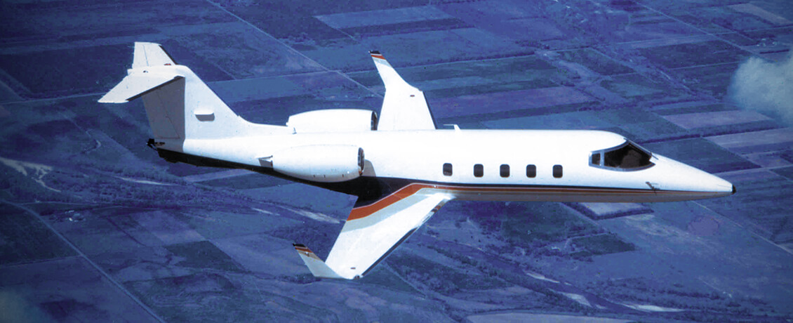 Bombardier-Learjet-55-training