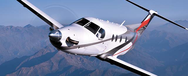 Pilatus-PC-12-training